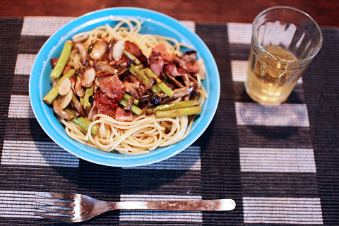 Simeji_bacon_pasta